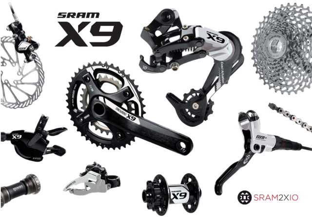 sada Sram X9 2011 10Speed