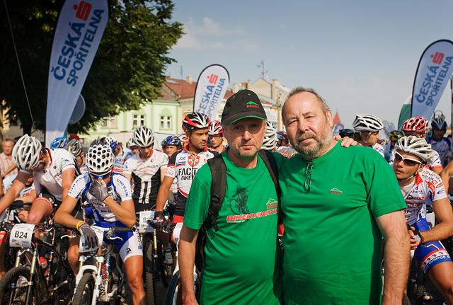 Zakladatelé nejstaršího českého MTB maratonu