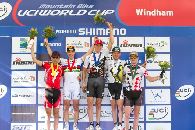 Jaroslav Kulhavý vyhrál závod světového poháru XC v americkém Windhamu