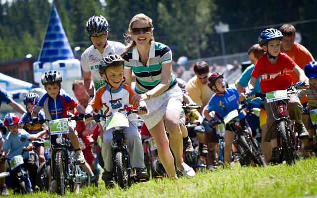 Dětské cyklistické závody