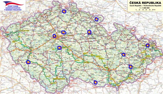 Český pohár hendikepovaných cyklistů 2011