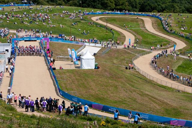 Olympijský okruh horských kol v Londýně
