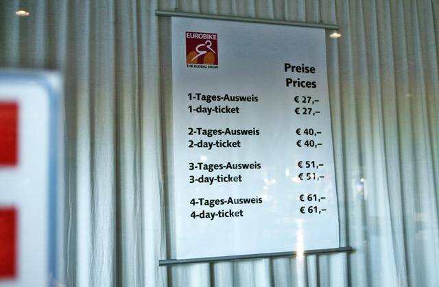 Ceny vstupného EB 2011