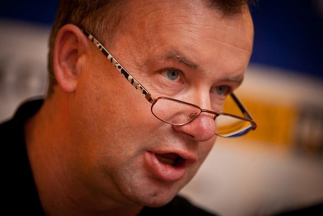 Reprezentační trenér cyklokrosařů Stanislav Bambula