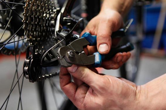 Město na kole 2012 - domácí servis