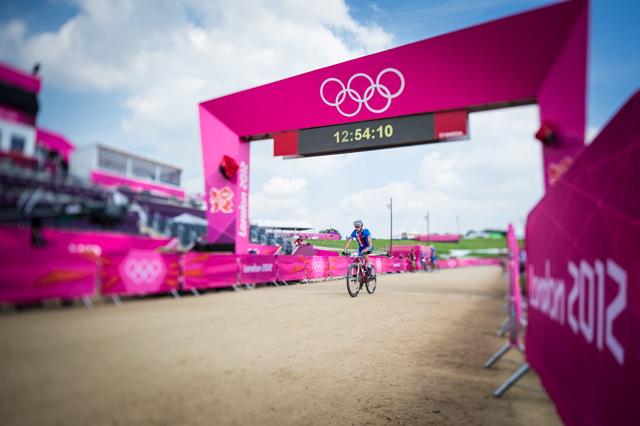 Jan Škarnitzl na olympijské trati