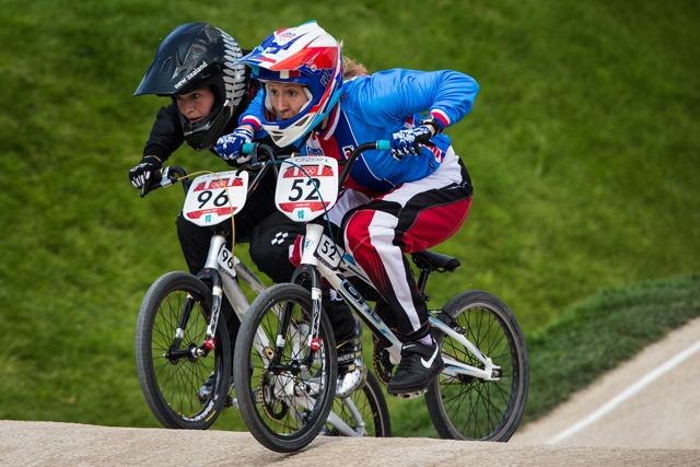 Aneta Hladíková v olympijském souboji se Sarah Walker