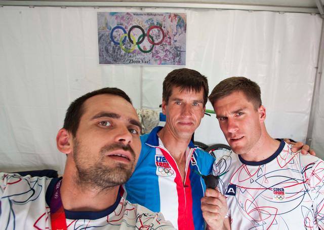 Miloš Matejov, Viktor Zapletal a Zdeněk Chmel