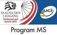 Program mistrovství světa MTB 2012