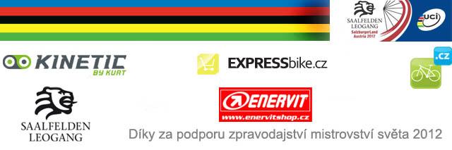Partneři mistrovství světa MTB 2012 - poděkování MTBS.cz