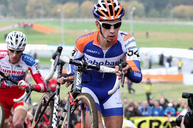 Lars van der Haar skončil překvapivě druhý na Světovém poháru v cyklokrosu v Táboře 2012