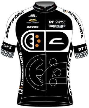 Dres týmu Elletroveneta Corratec 2012