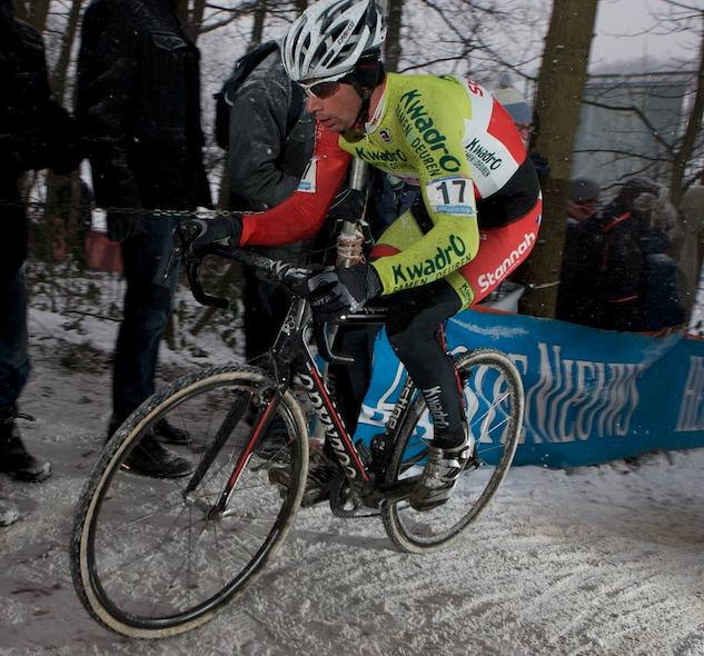 Radomír Šimůnek na trati Světového poháru v Hoogerheide