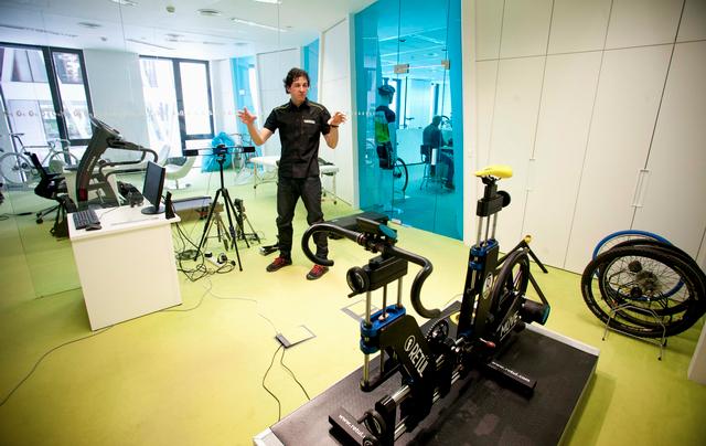 Jan Falge - seriál o fittingu - měření optimálního posedu na kole