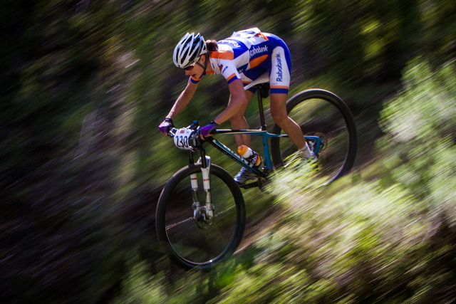 Marianne Vos na horském kole