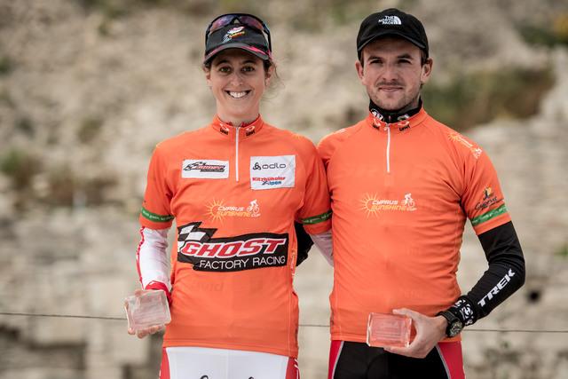 Jan Škarnitzl a Katrin Leuamann - celkoví vítězové Sunshine Cupu 2013
