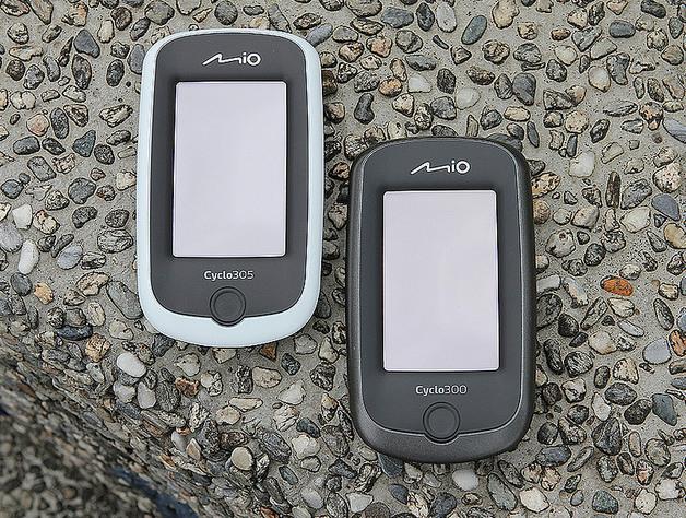Cyklistická navigace Mio 305 a 300