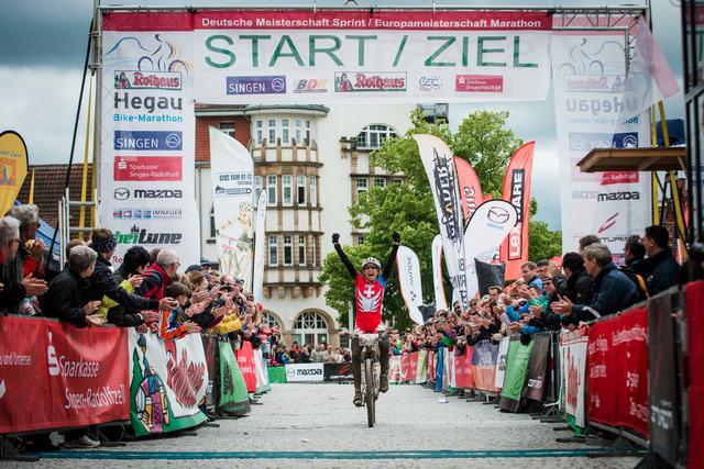 Mistrovství Evropy v maratonu, Singen /GER/, 12.5. 2013 - Esther Süss vítězí