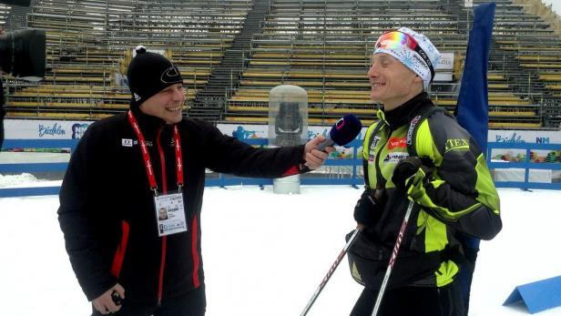 Tomáš Lachman zná Vysočina arénu jak své boty, na MS v biatlonu působil v roli redaktora