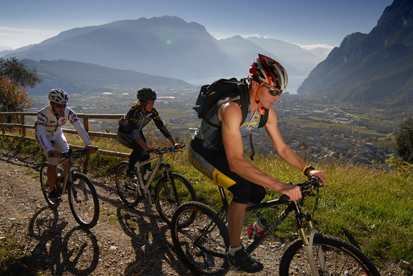 Mountainbiking na Lago di Garda