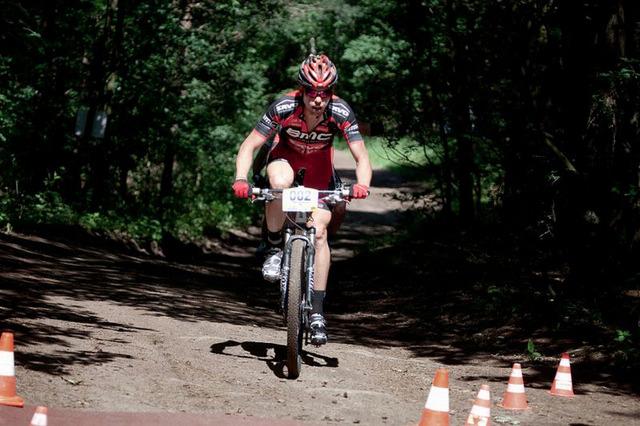 Loňský vítěz Genesis Bike Prague Tomáš Vokrouhlík
