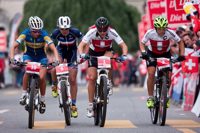 Mistrovství Evropy MTB - Bern 2013, finále závodu žen