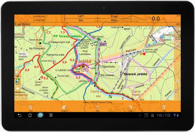 Smart Maps v chytrých telefonech