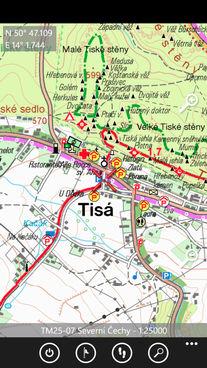 Smart Maps v chytrlefonech