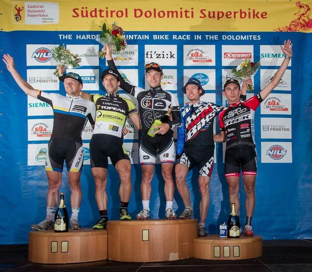 Kristian Hynek zvítězil v prestižním maratonu Dolomiti Superbike 2013