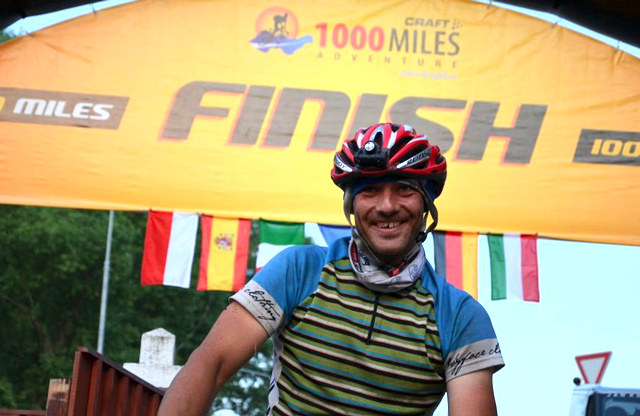 Vítěz extrémního ultramaratonu Craft 1000 Miles Adventure Jan Tyxa