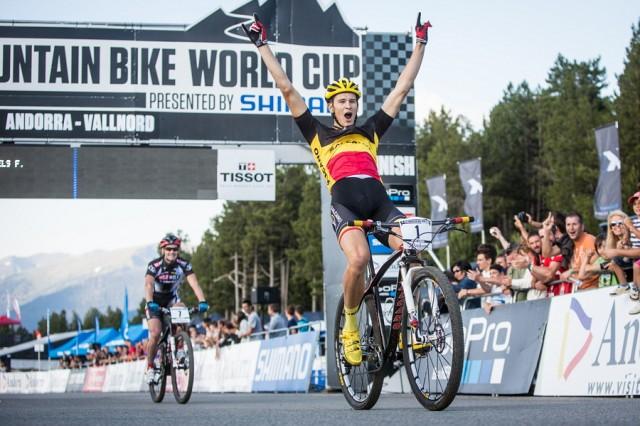 Světový pohár MTB 2013 - Andorra - Fabrice Mels