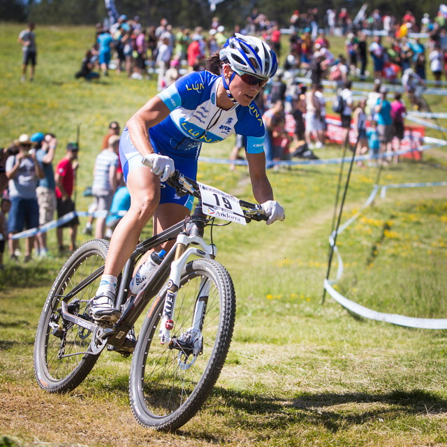 Světový pohár MTB 2013 - Vallnord: Kateřina Nash