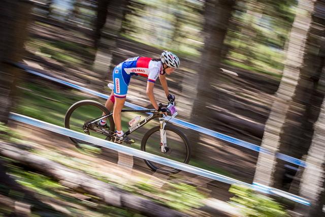 Světový pohár MTB 2013 - Vallnord: Barbora Průdková