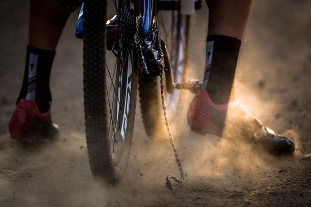 Mistrovství světa MTB 2013, Pietermaritzburg - Jaroslav Kulhavý právě přetrhnul řetěz