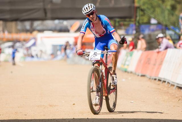 Mistrovství světa MTB 2013, Pietermaritzburg - Jan Vastl dojíždí do cíle