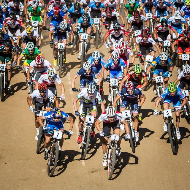 Mistrovství světa MTB 2013, Pietermaritzburg: start mužů