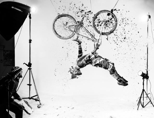 Vítězná fotografie Dana Vojtěcha v Red Bull Illume 2013