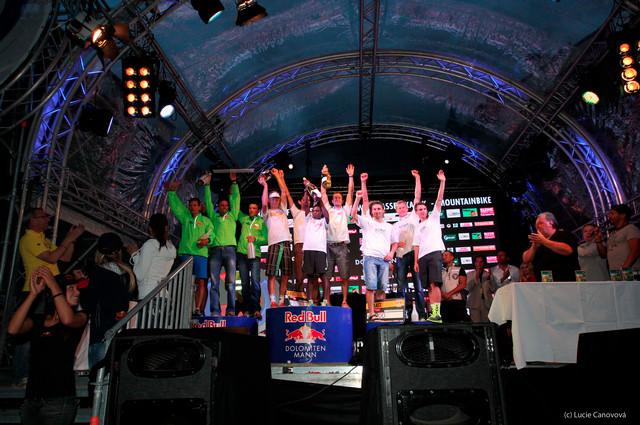 Dolomitenmann 2013 - Stupně vítězů