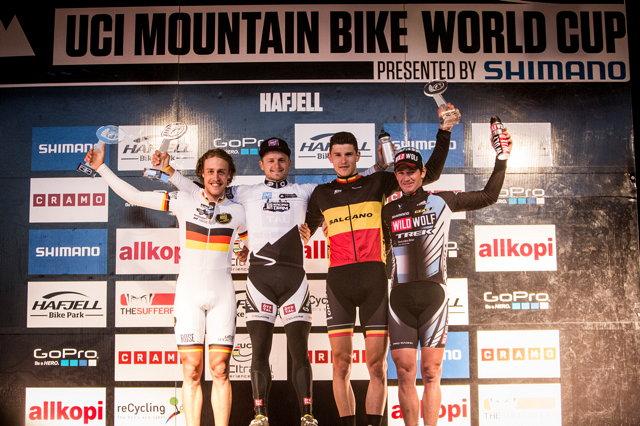 Světový pohár MTB Hafjell 2013: celkové pořadí seriálu