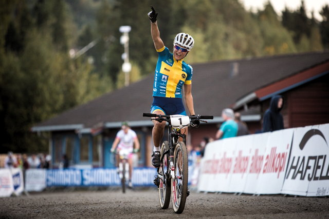 Světový pohár MTB Hafjell 2013: Jenny Rissveds