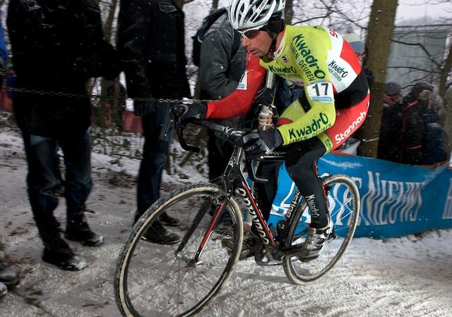 Radomír Šimůnek v závodě SP v Hoogerheide 2013