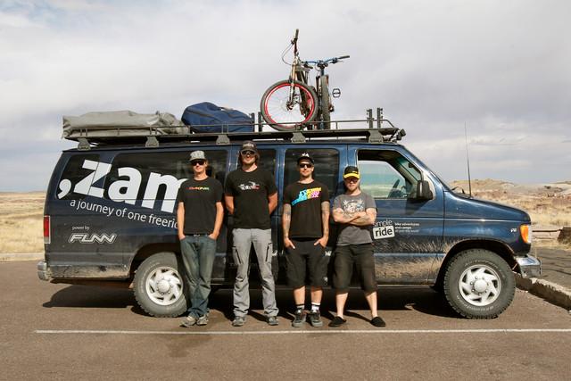 ZAM2 - zleva Lukáš, Marty, Gaspi a Adam