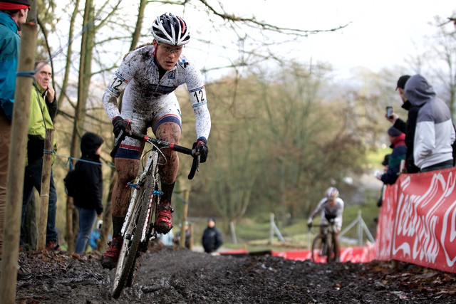 Katie Compton - SP cyklokros Namur 2013