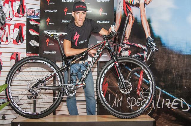 Paolo Montoya - nová akvizice týmu Specialized Racing