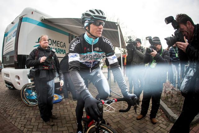 Zdeněk Štybar jede okusit okruh MS v cyklokrosu 2014