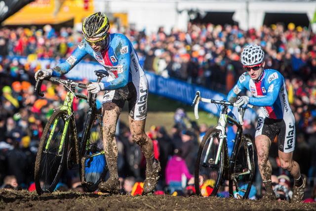 Michael Boroš a Tomáš Paprstka bojují o první desítku v závodě MS 2014