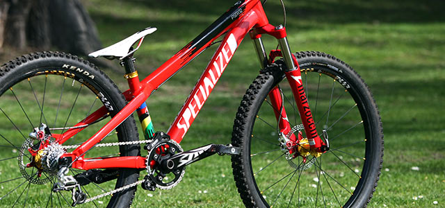 Specialized 4X bike 2012 Michala Prokopa