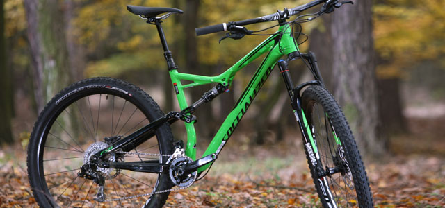 "TEST: ""zelenáč"" Specialized SJ FSR Comp"