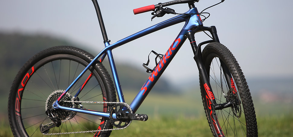 TEST: Specialized S-Works Epic HT Pavla Boudného