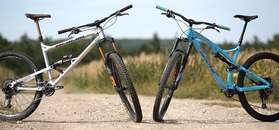 TEST: Nicolai ION G15 vs. Whyte S-150S